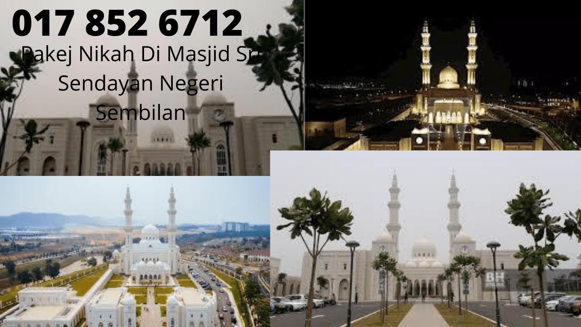 Pakej-Nikah-0178526712-Di-Masjid-Sri-Sendayan-Negeri-Sembilan